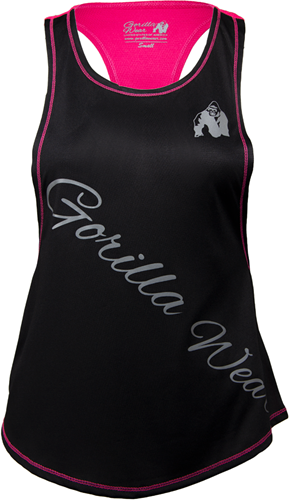 Gorilla Wear Florida Stringer Tank Top Black/Pink