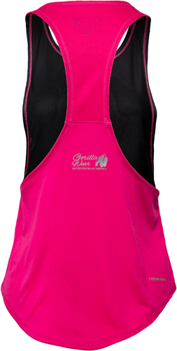 Gorilla Wear Florida Stringer Tank Top Black/Pink-2