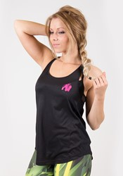 Gorilla Wear Santa Monica Tank Top - Black/Pink