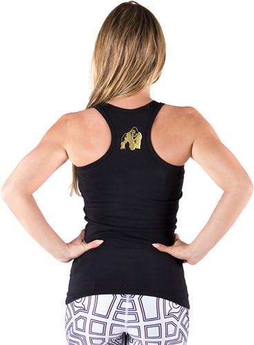 Gorilla Wear Florence Tank Top - Black/Gold-3