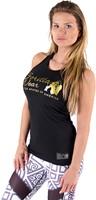 Gorilla Wear Florence Tank Top - Black/Gold-2