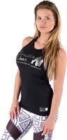 Gorilla Wear Florence Tank Top - Black/Silver-2
