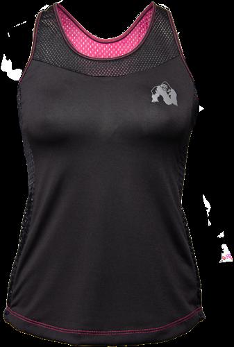 Gorilla Wear Marianna Tank Top - Black/ Pink