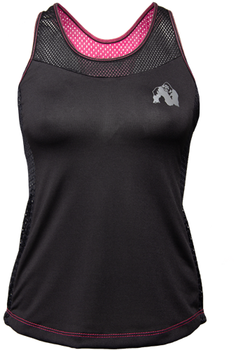 Gorilla Wear Marianna Tank Top - Zwart/ Roze