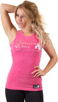 Gorilla Wear Leakey Tank Top - Pink-2