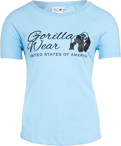 Gorilla Wear Lodi T-Shirt - Lichtblauw