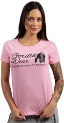 Gorilla Wear Lodi T-shirt - Light Pink