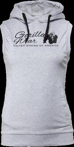 Gorilla Wear Selma Sleeveless Hoodie - Grijs