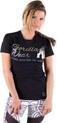 Gorilla Wear Luka T-shirt - Black/Silver