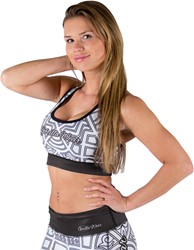 Gorilla Wear Pueblo Sports Bra - Black/White