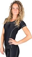 Gorilla Wear Carlin Compression Short Sleeve Top - Black Gray-2