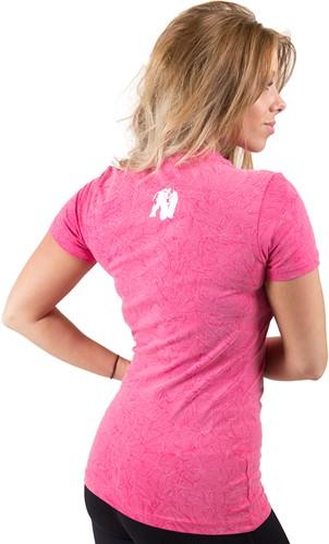 Gorilla Wear Camden T-shirt - Pink-3