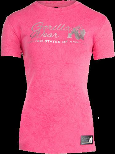 Gorilla Wear Camden T-shirt - Roze