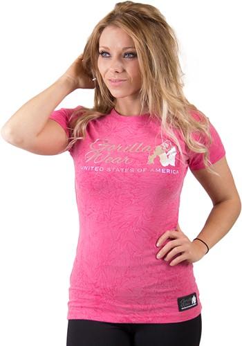 Gorilla Wear Camden T-shirt - Pink-2