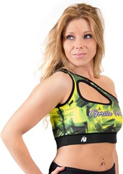Gorilla Wear Reno Sports Bra - Yellow