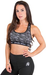 Gorilla Wear Hanna Sports Bra  - Black/White