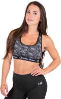 Gorilla Wear Hanna Sports Bra  - Black/White-3