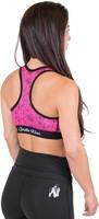 Gorilla Wear Hanna Sports Bra - Black/Pink-3