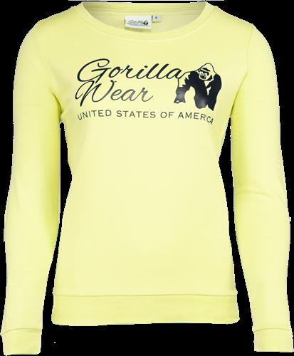 Gorilla Wear Riviera Sweatshirt - Geel