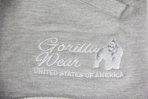 Gorilla Wear New Jersey Sweat Shorts - Grijs-3