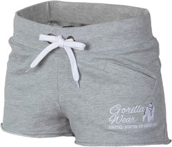 Gorilla Wear Womens New Jersey Sweat Shorts Grey