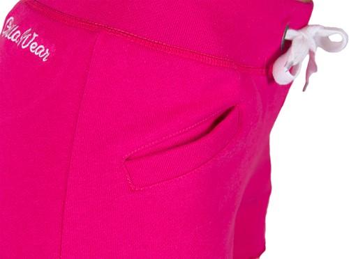Gorilla Wear Women's New Jersey Sweat Shorts - Roze-3