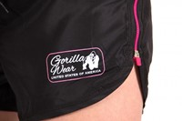 Gorilla Wear Women's New Mexico Cardio Shorts Black/Pink-3