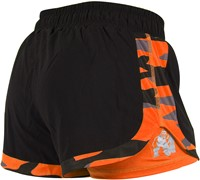 Gorilla Wear Denver Shorts Black/Neon Orange-2
