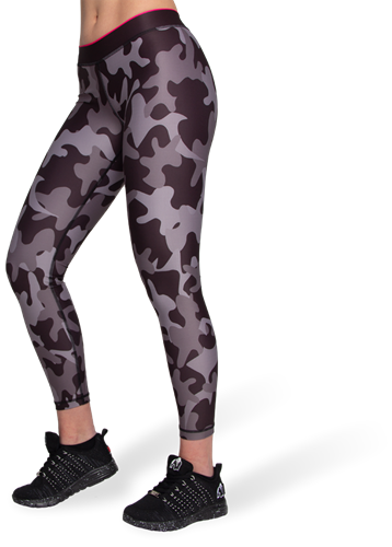 Gorilla Wear Camo Tights - Zwart/Grijs