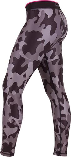 Gorilla Wear Camo Tights - Black/Gray