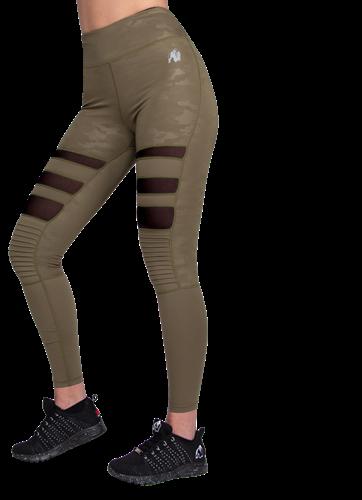 Gorilla Wear Savannah Biker Legging - Legergroen Camo