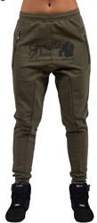 Gorilla Wear Celina Drop Crotch Joggers - Army Green