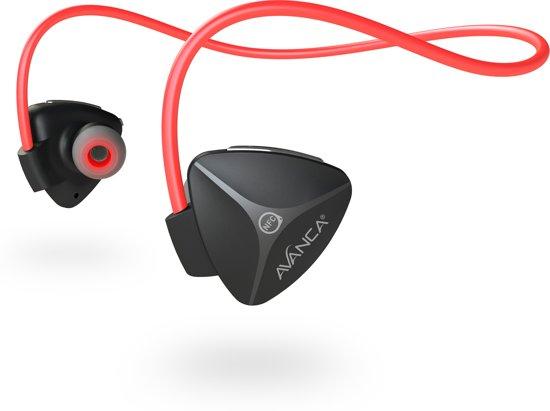 Afbeelding van Avanca D1 Bluetooth Headset - Black/Red