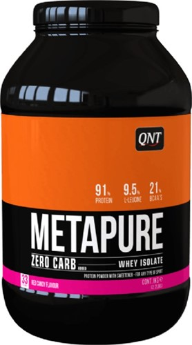QNT Zero Carb Metapure - 908g - Red Candy