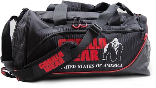 Gorilla Wear Jerome Gym Bag -  Black/Red