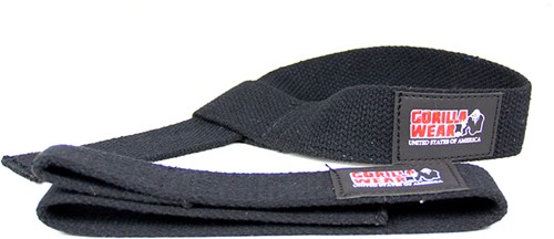 Gorilla Wear Non-Padded Lifting Straps-3