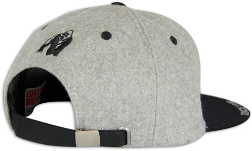 Gorilla Wear Soft Text Flat Brim