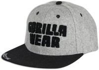 Gorilla Wear Soft Text Flat Brim-2