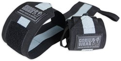 Gorilla Wear Wrist Wraps Ultra Black/Grey
