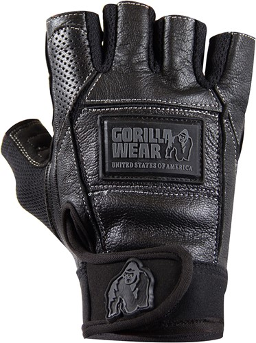 Gorilla Wear Hardcore Gloves Black