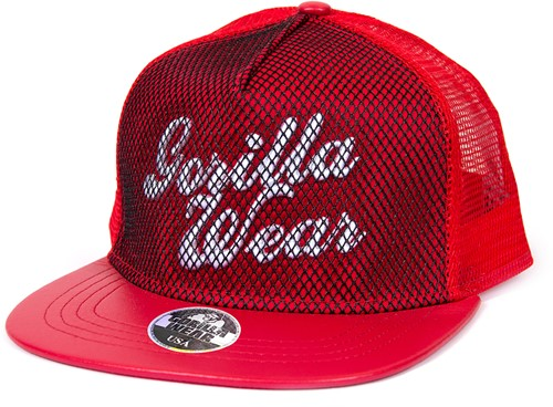 Gorilla Wear Mesh Cap - Red