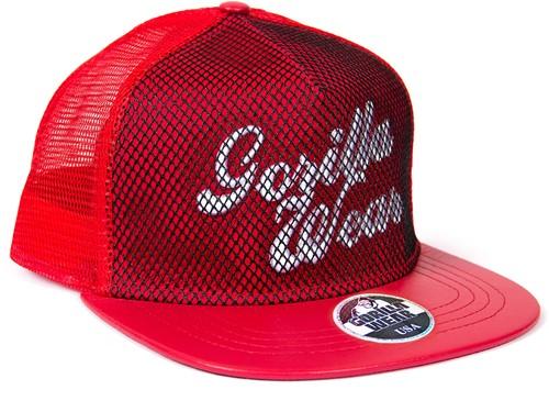 Gorilla Wear Mesh Cap - Red-2