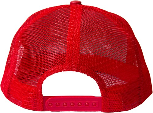 Gorilla Wear laredo mesh cap red back