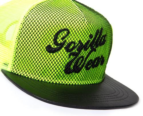 Gorilla Wear Mesh Cap - Neon Lime-2