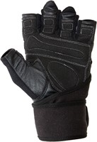 Gorilla Wear Dallas Wrist Wrap Gloves - Black-2