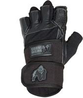 Gorilla Wear Dallas Wrist Wrap Gloves - Black