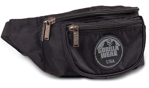 Gorilla Wear Stanley Fanny Pack - Black