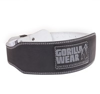 Gorilla Wear 4 Inch Padded Leather Belt-1