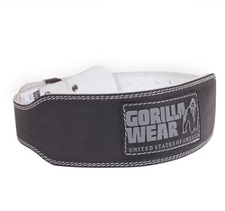 Gorilla Wear 4 Inch Padded Leather Belt