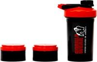Gorilla Wear Shaker 2 GO - Zwart/Rood-2